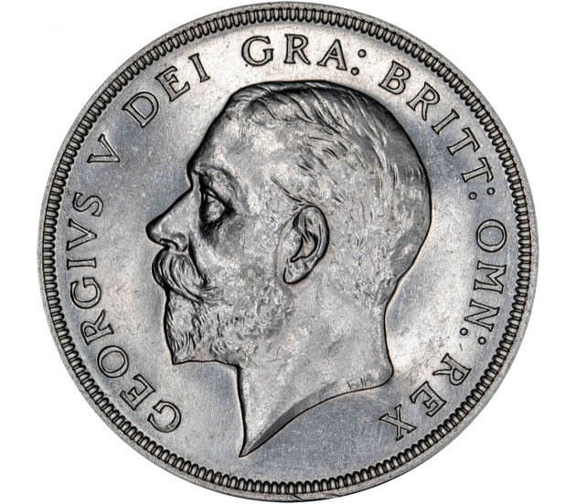 1927 George V Wreath Crown