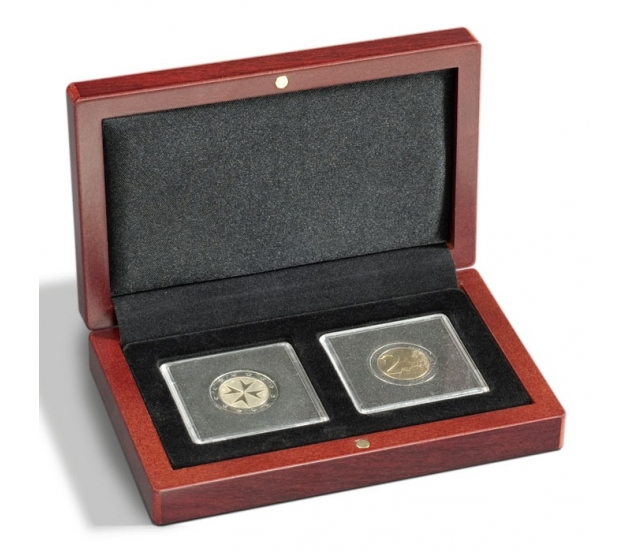 Lighthouse VOLTERRA Coin Case for Two Quadrum Capsules