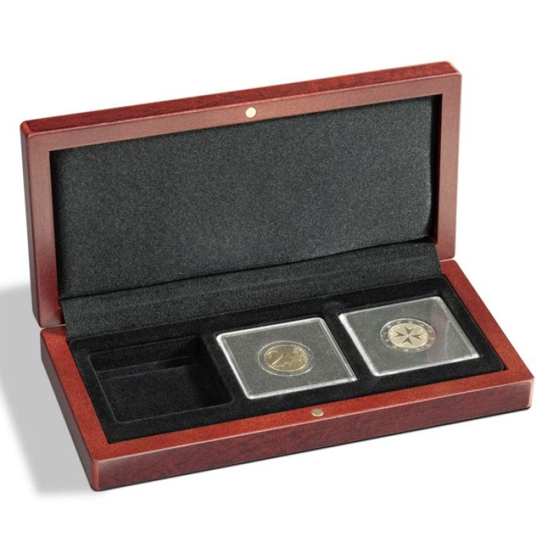 Lighthouse VOLTERRA Coin Case for Three Quadrum Capsules