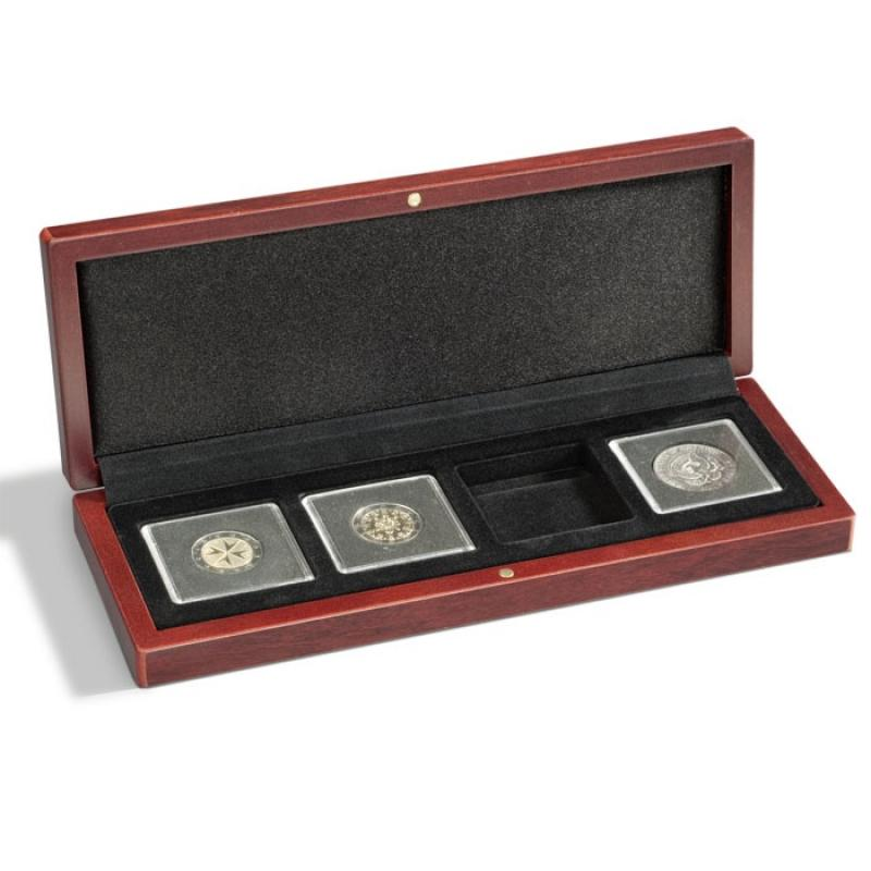 Lighthouse VOLTERRA Coin Case for Four Quadrum Capsules