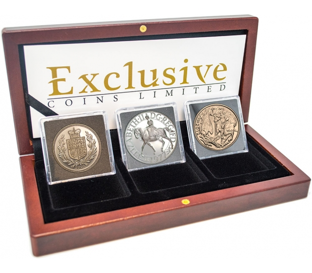 Queen Elizabeth II Jubilee Coin Collection