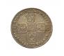 1728 George II Silver Shilling