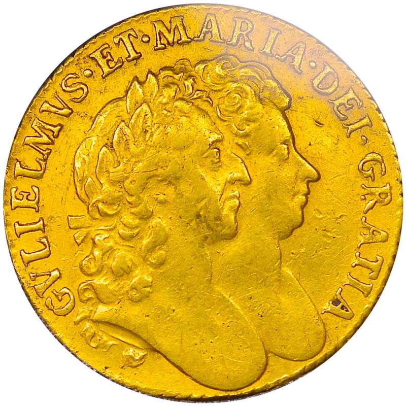 1691 William & Mary Guinea