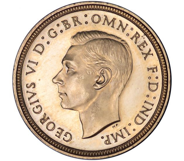 1937 King George VI Proof Gold Half Sovereign