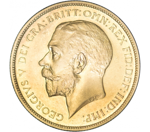 1911 King George V Proof Gold Two Pound