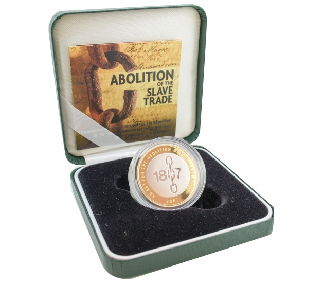 Abolition of the Slave Trade - Two Pound, £2
