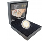 2008 Silver Olympic Games Handover Ceremony Two Pound, £2