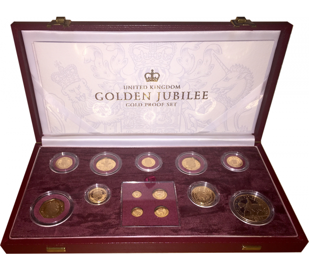 2002 13-Piece Gold Proof Coin Collection