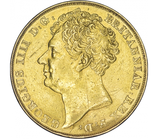 1823 George IV Gold Two Pound
