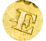 1861 E of DEI over rotated E Shield Reverse Sovereign