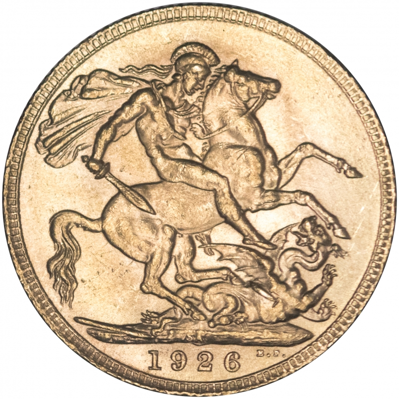 1926 King George V Gold Sovereign