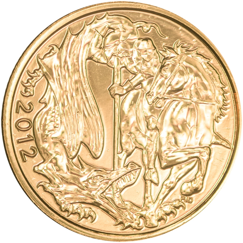 2012 Queen Elizabeth II Gold Sovereign - Diamond Jubilee