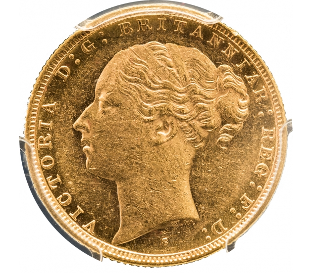 1881 Queen Victoria Young Head Sydney G&D Sovereign