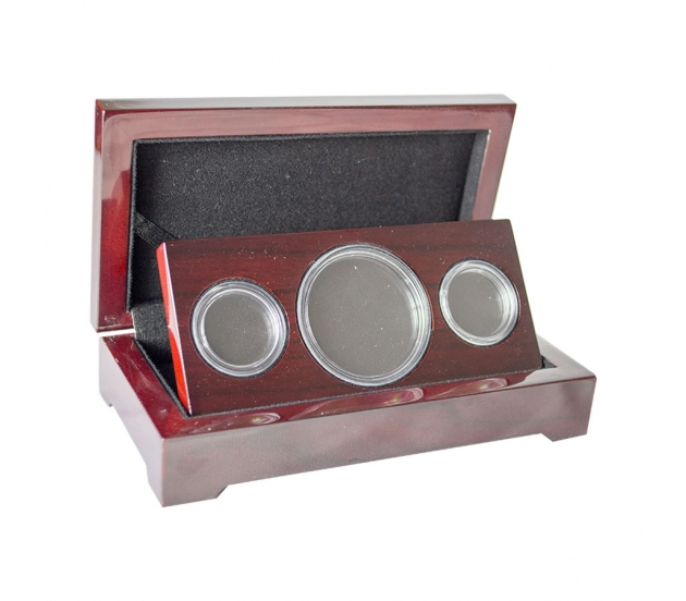 Double Sovereign & Crown Coin Case (Gloss Finish)