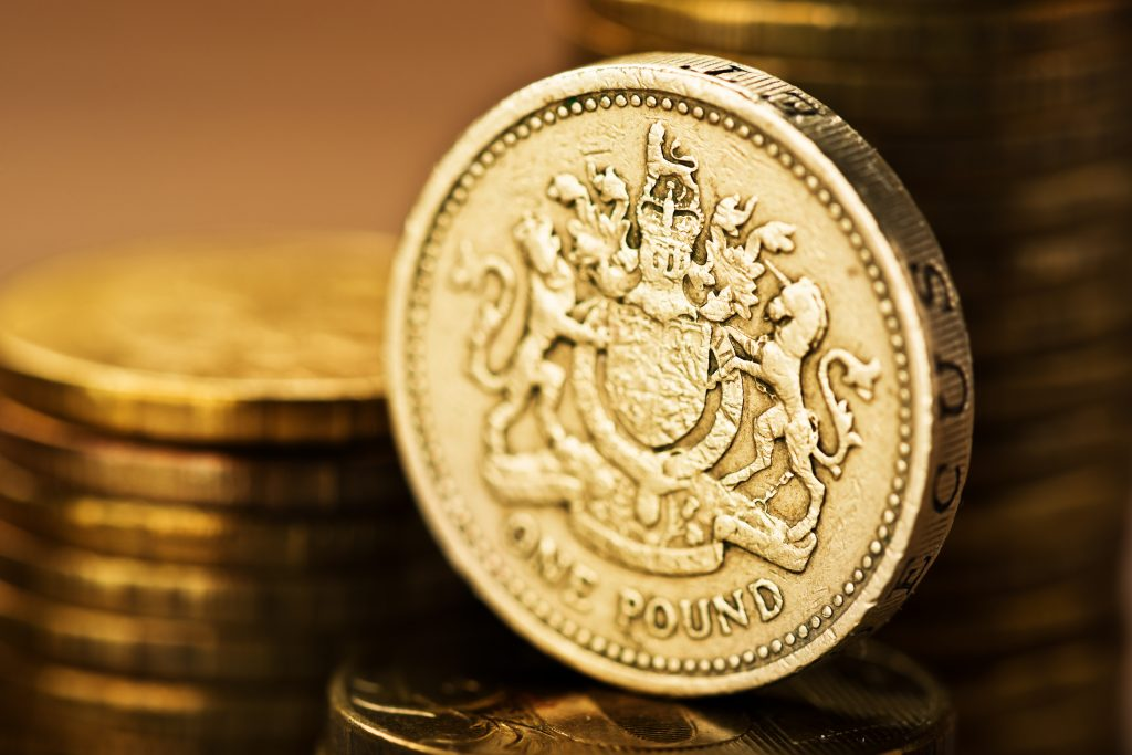 British 1 Pound - Foreign Currency