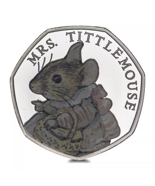 An image of Mrs Tittlemouse