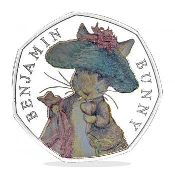Benjamin Bunny 2017 50p Silver Proof Coin