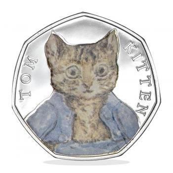 Tom Kitten 2017 50p Silver Proof Coin