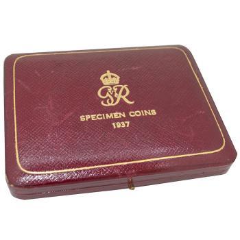 1937 King George VI Proof Gold Case