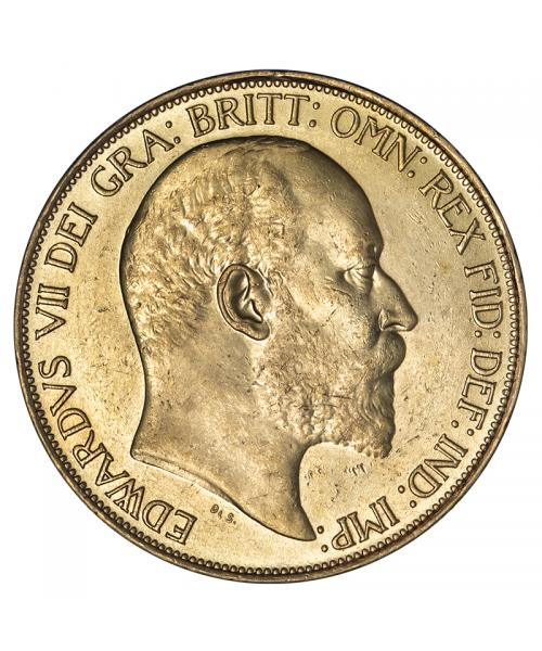 1902 Coronation Currency Five Pound