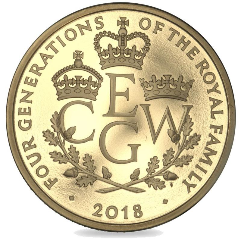 2018 Four Generations Proof Gold Five Pound