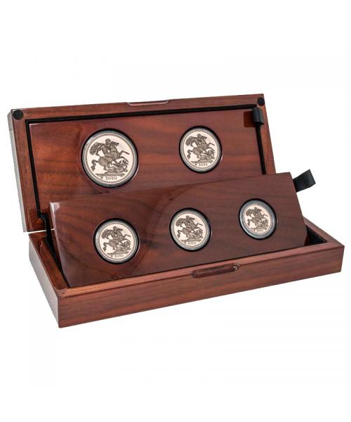 Five-Coin 2020 Gold Proof Collection Image