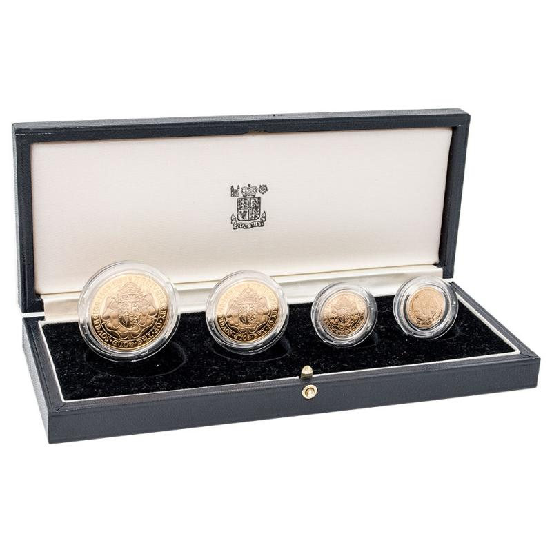 1989 Queen Elizabeth II Gold Proof Four Coin Collection
