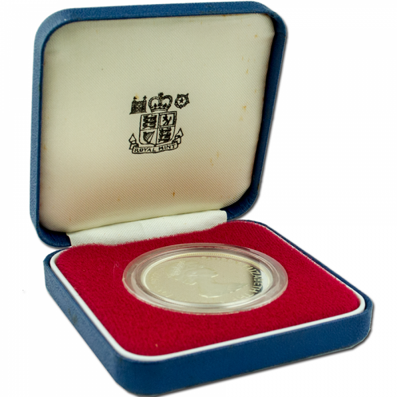 1977 Queen Elizabeth II Silver Proof Jubilee Crown