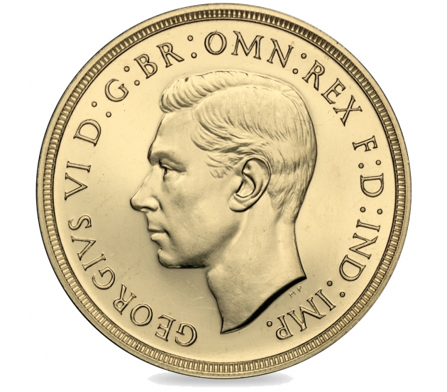 1937 Double Sovereign of King George VI
