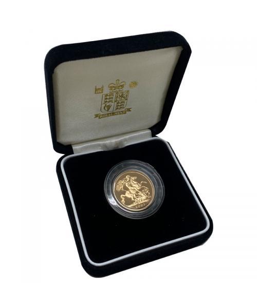 2001 Gold Sovereign alt