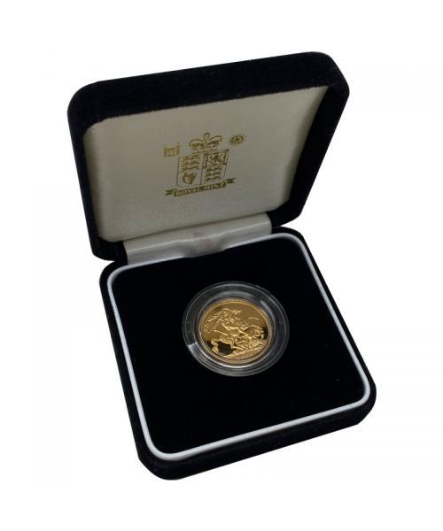 2003 Gold Sovereign alt