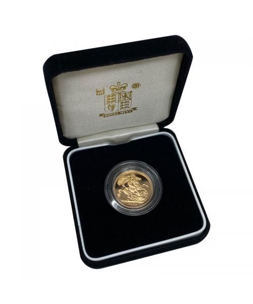 2004 Gold Sovereign alt