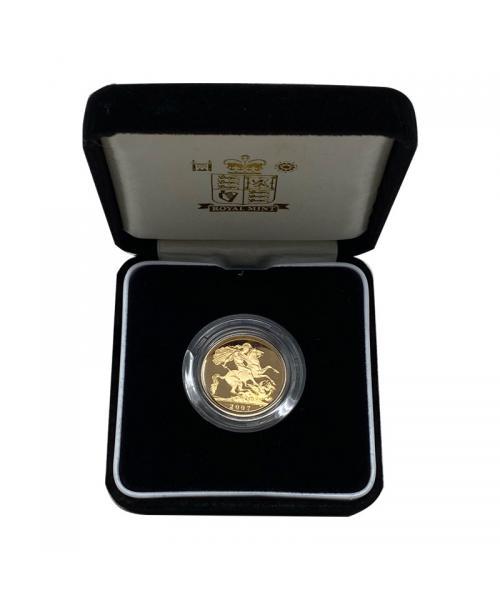 2007 Gold Sovereign alt