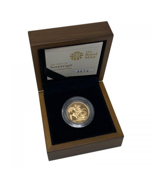2011 Gold Sovereign alt