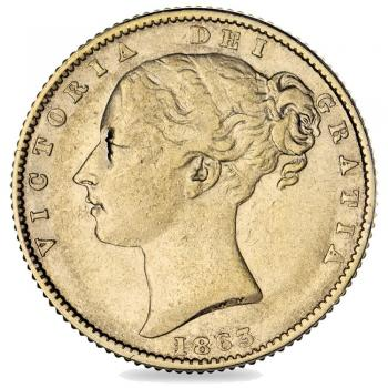 1863 Roman I Victoria Sovereign