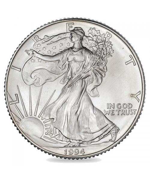 image of the American 1oz Eagle Silver Coin