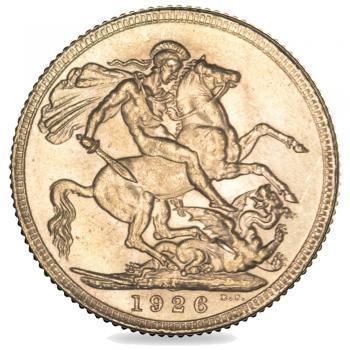 1926 King George V Gold Sovereign