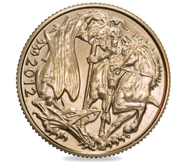 2012 Queen Elizabeth II Jubilee Gold Sovereign