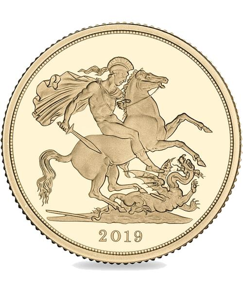 2019 Gold Sovereign alt
