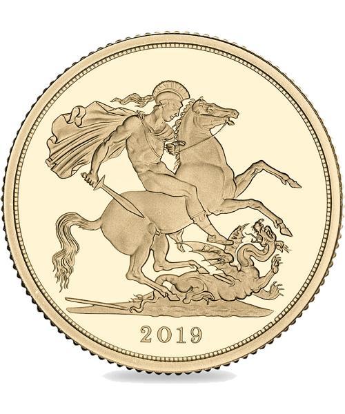 2019 Queen Elizabeth II Sovereign Picture